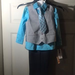 Boys 4 piece outfit,